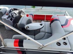 Pontoon boats comfort