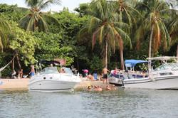 Boats at Haulover Islands
