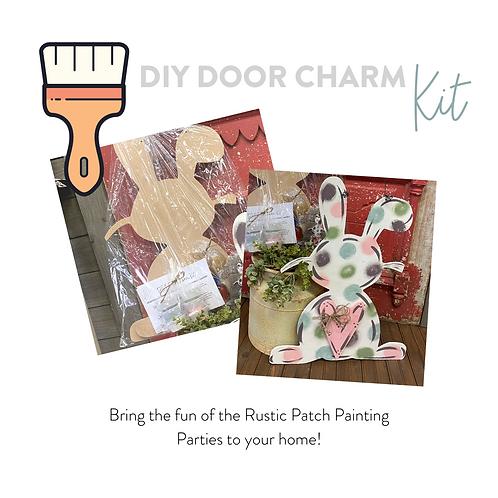 DIY Door Charm Kit Easter Bunny