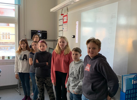 Elevinflytande i gul klass