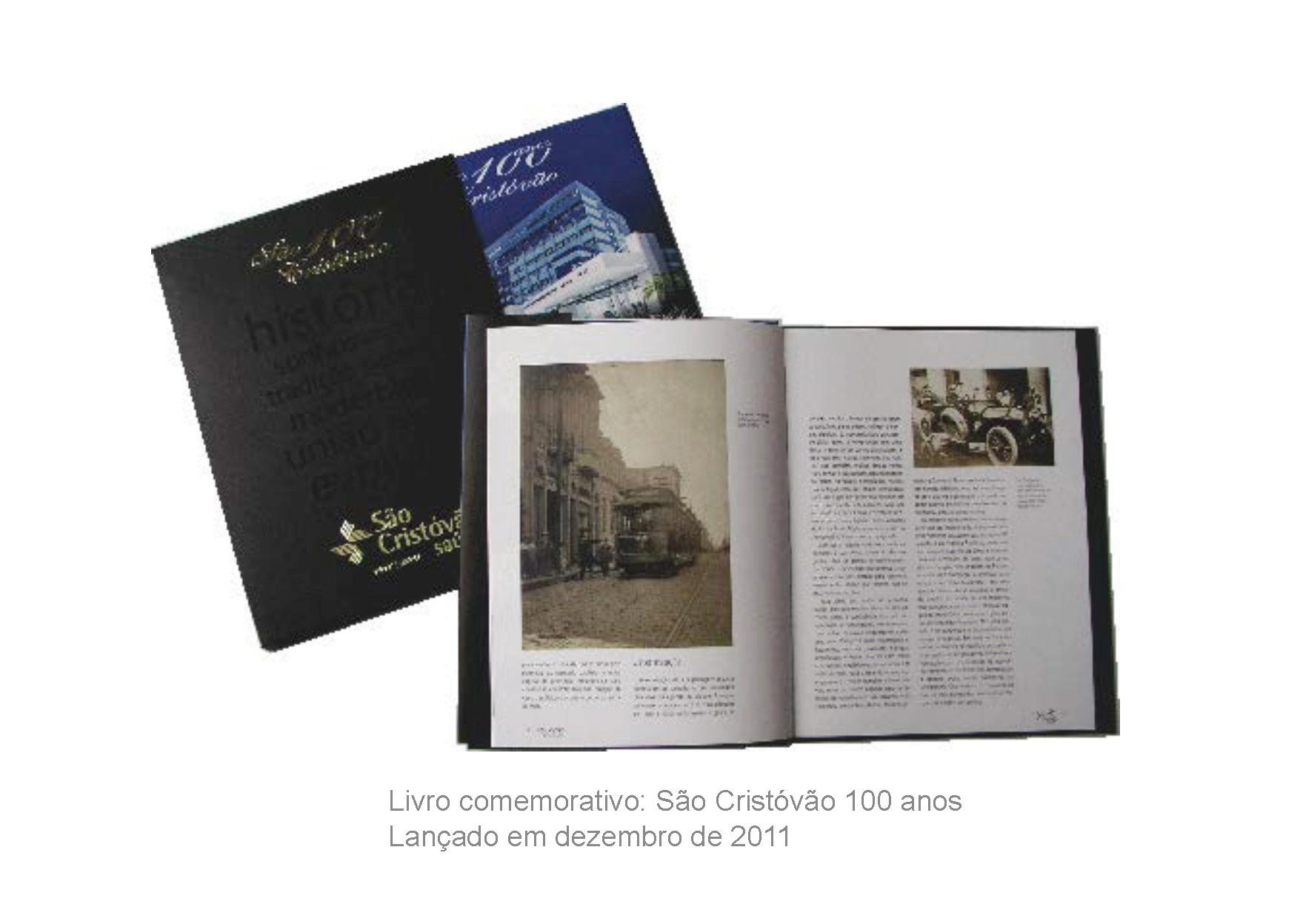 Livro São Cristóvão 100 anos