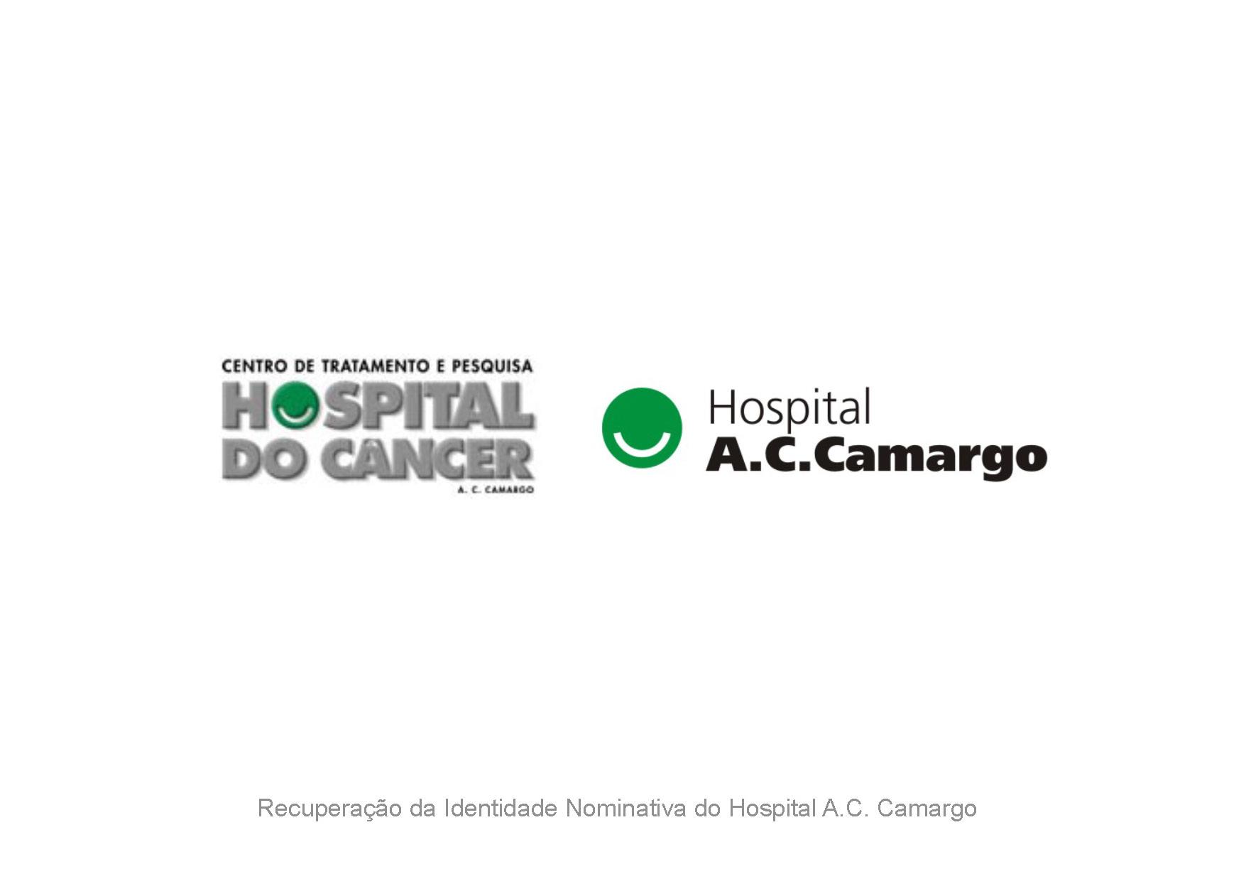 Logotipo Hospital A.C. Camargo