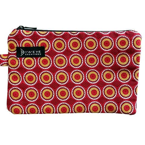 Pochette Wax - Brillant Rouge