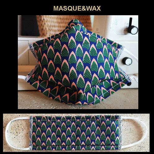 """Masque&Wax """"Ecailles Vertes"""""""