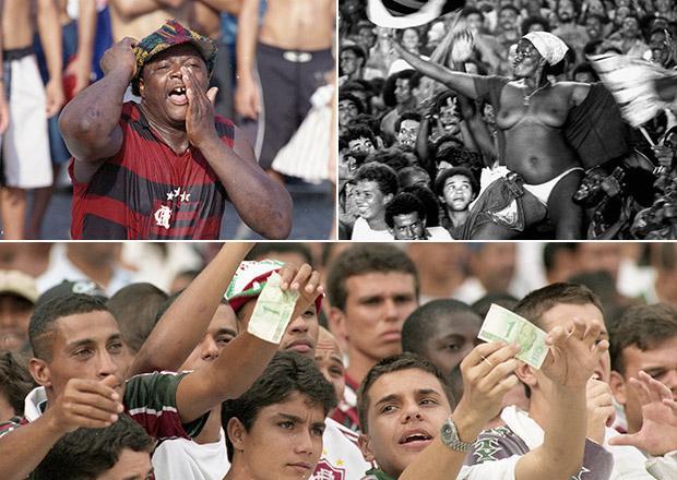 A Geral do Maracanã era a mais democrática arquibancada do Brasil / Foto: Reprodução.