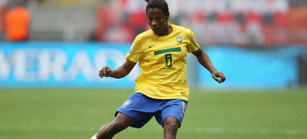 Formiga, camisa 8 da seleção nos jogos de 2016 no Rio. ( Foto: Reprodução.)