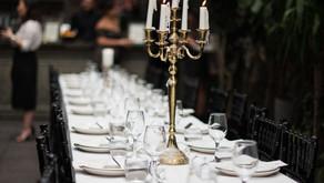 THE REHEARSAL DINNER AT CELESTE