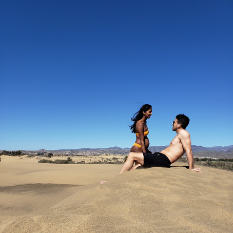A DAY AT THE MASPALOMAS BEACH & DUNES