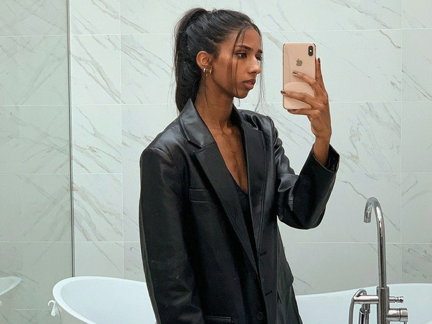 THE OVERSIZED LEATHER BLAZER YOU'VE BEEN LOOKING FOR