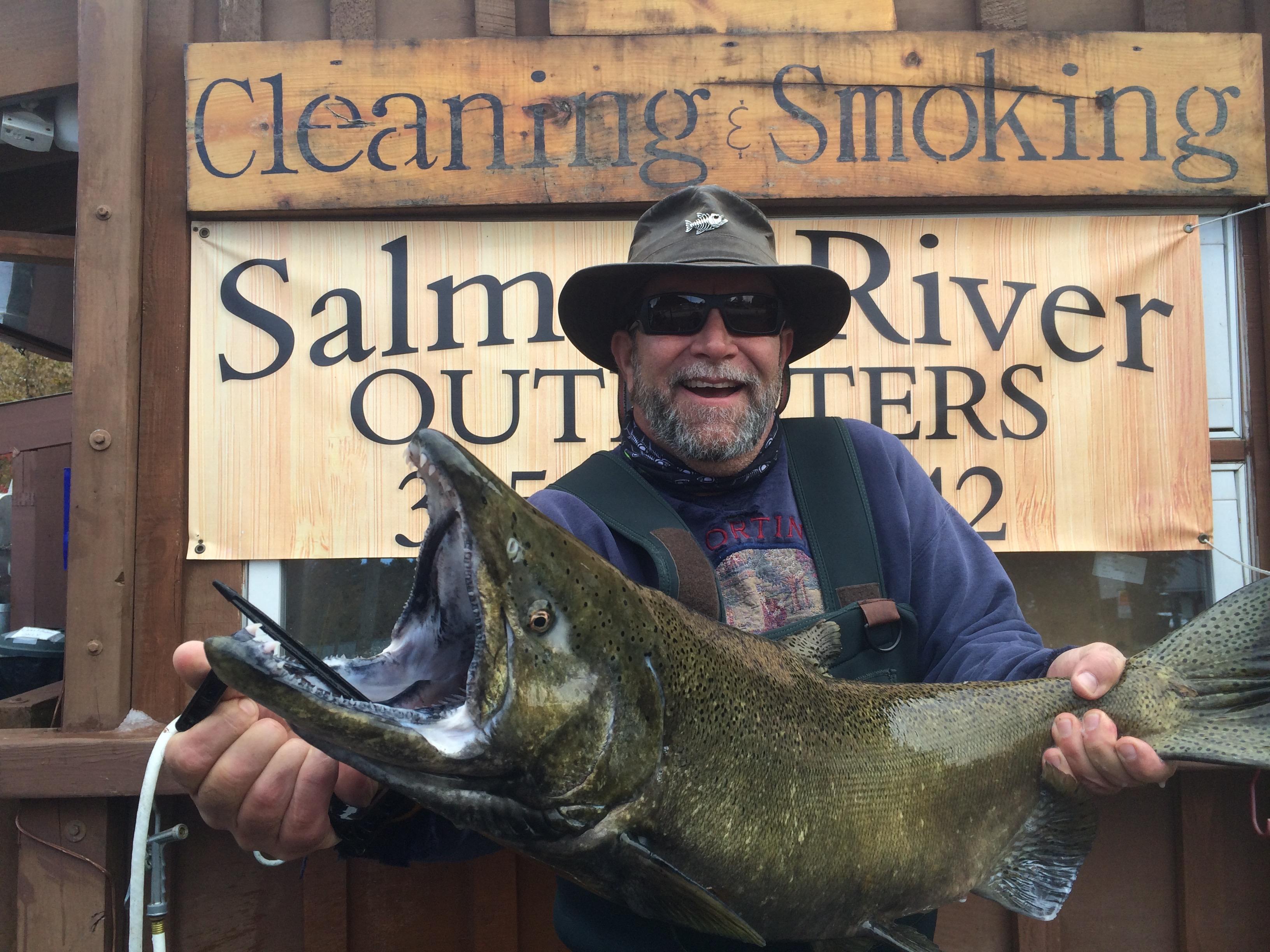 Salmon River Salmon Fishing