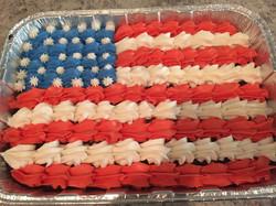 American Flag Brownies