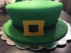 St Patricks Day Hat Cake