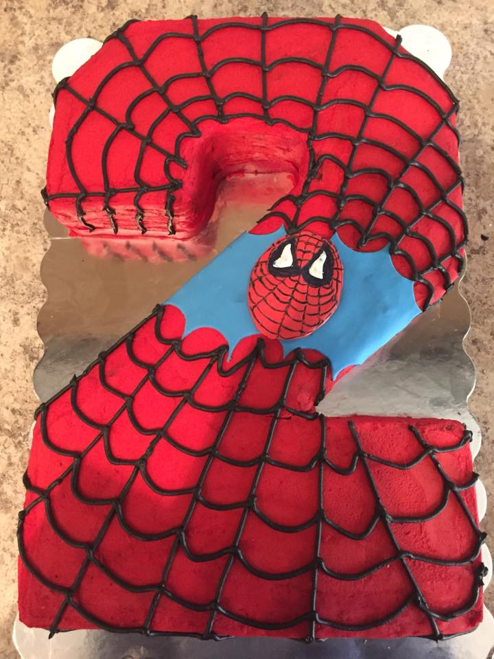Spiderman 2 Cake
