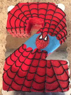 Spiderman 2 Cake