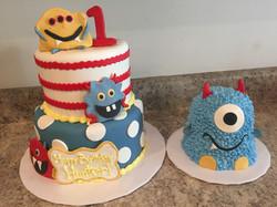 Monster Cake and Smash Cake