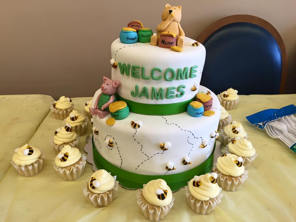 Pooh Babyshower Cake