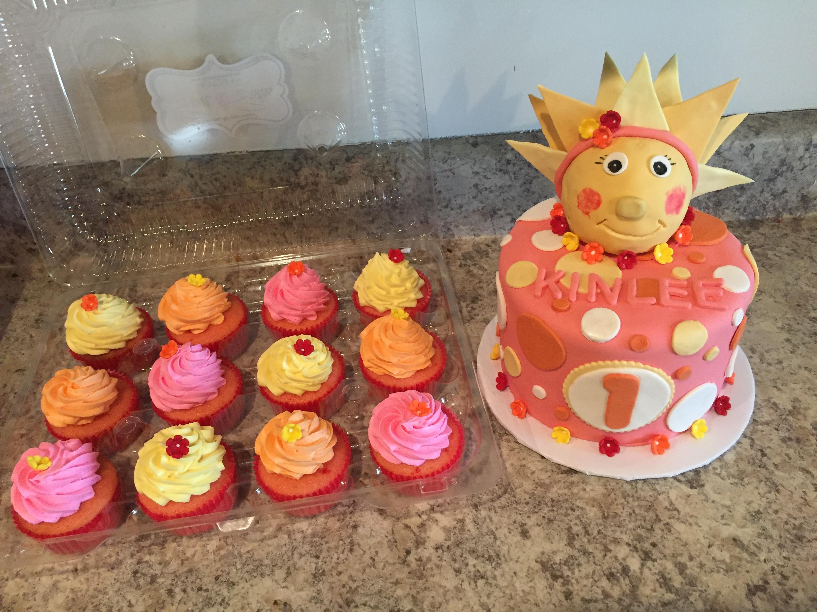 Sunshine Cakes