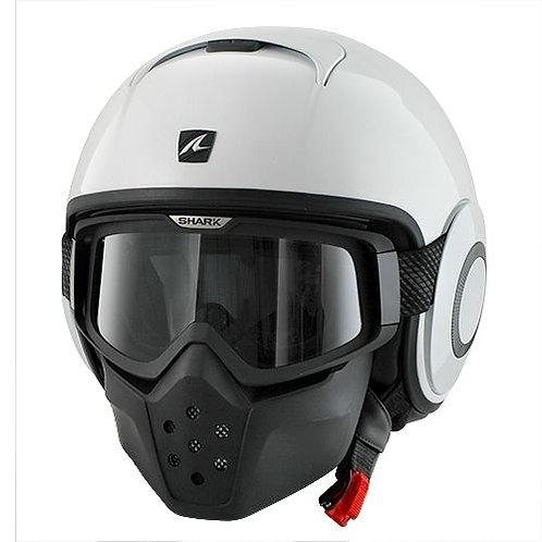 Shark DRAK Openface Helmets Gloss White WHU