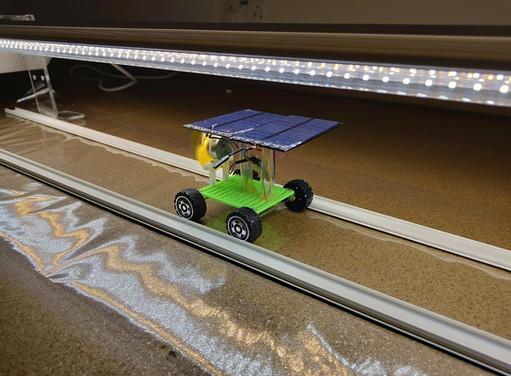 LED Light Tunnel for Solar Car