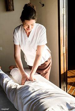 Download premium image of Female massage