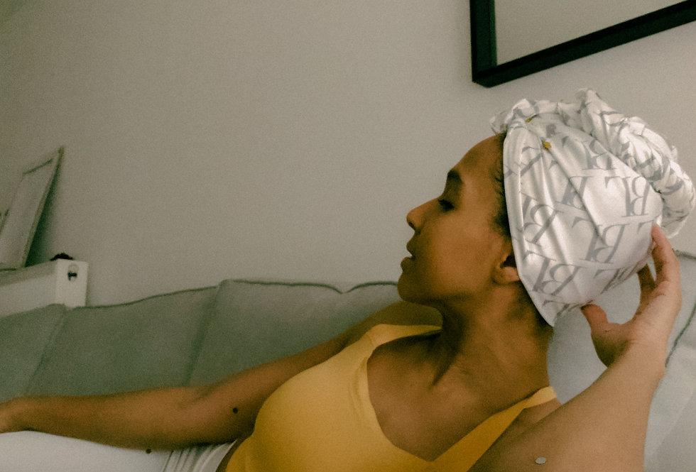 Michaela 'Head Wrap' (White)