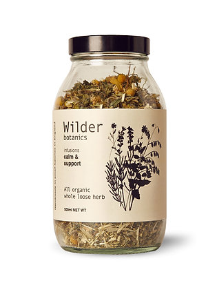 Tea Infusion - Calm & Support