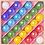 Thumbnail: Box of 25 marbles - Rainbow Paradise