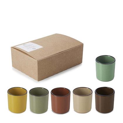 Espresso Caractère Mugs - Set of 6