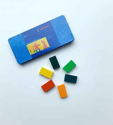Stockmar Beeswax blocks - Set of 16