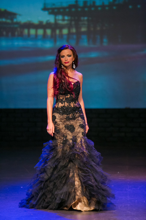 Amber Wins Top 10 at Ms West Coast Pageant