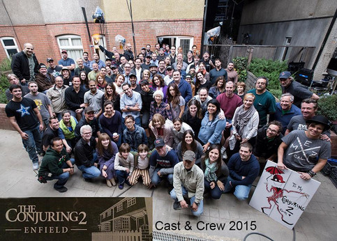 Amber finishes shooting with The Conjuring 2