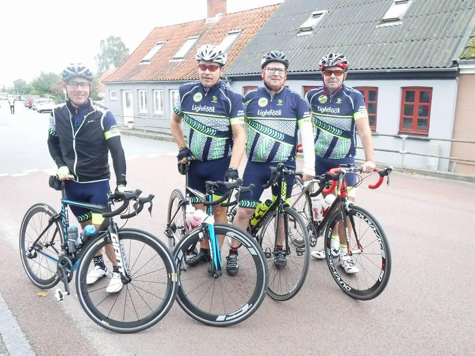 Martin, Claus, Thomas og Flemming klar!