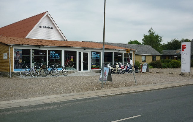 Fri BikeShop - Tved Kirkevej 5A