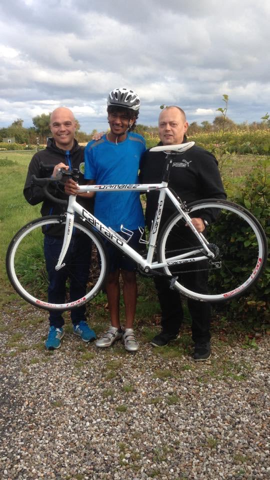 Så fik TMCK medlem Kelete Mana ny cykel