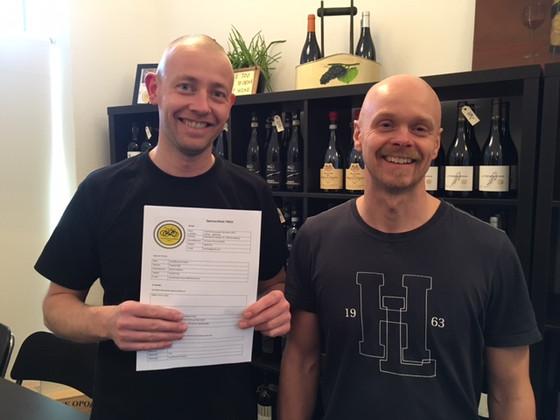 Svendborg Vinimport forlænger sponsoraftalen med TMCK i 3 år!