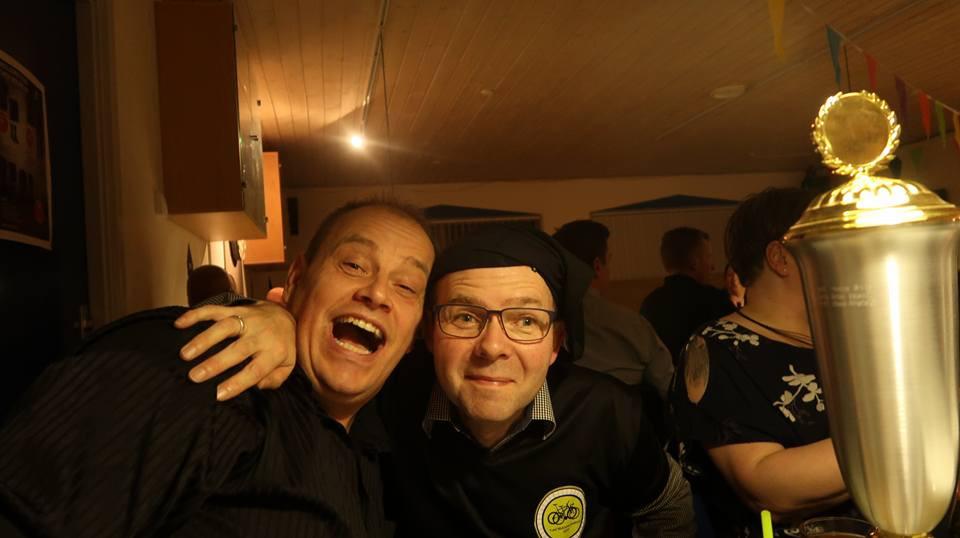 Claus og Flemming i højt humør