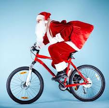 Julemanden cykler oz - det er vi glade for i TMCK!