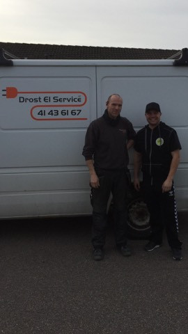 Drost El Service er ny sponsor hos TMCK