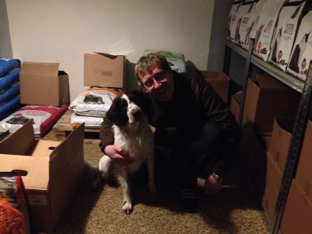 Hunden Cæus og Karsten glæder sig til samarbejdet med TMCK