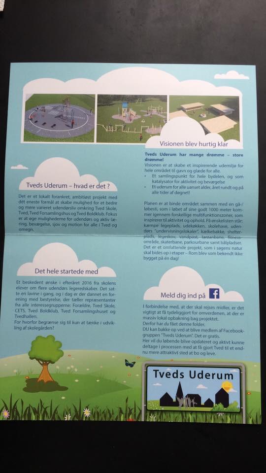 TVEDS UDERUM's brochure