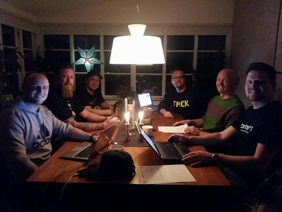 Bestyrelsesmøde afholdt i TMCK!