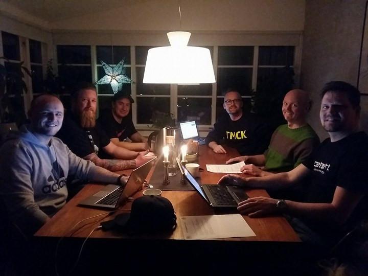 Rasmus, Ulrik, Allan, Søren, Torben og Michael