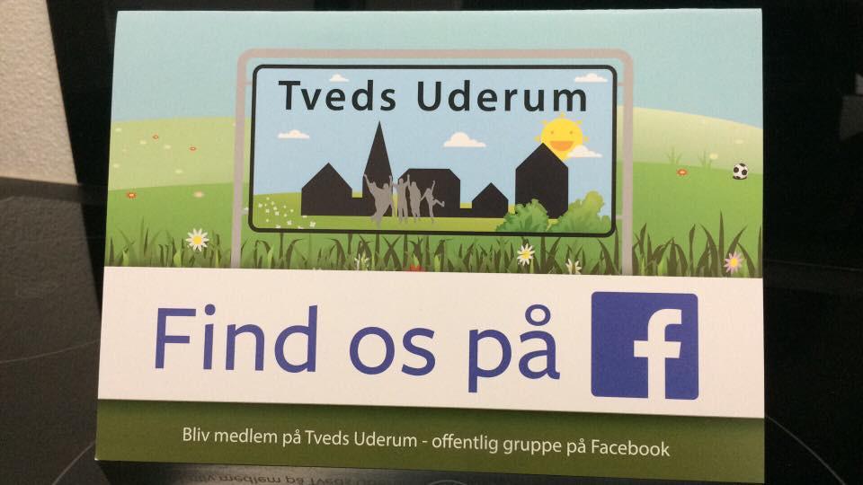 Find dem på Facebook