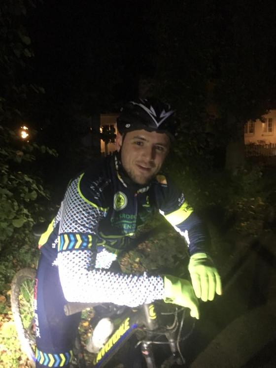 Torsdagstræning - TMCK Nightride! Beretningen fortjener sin plads på bloggen :)