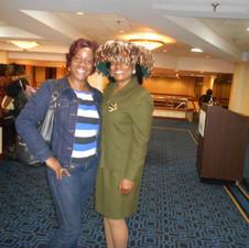 Stephannie with Retreat Member.jpg