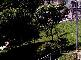 Praça em Frente ao Imovel