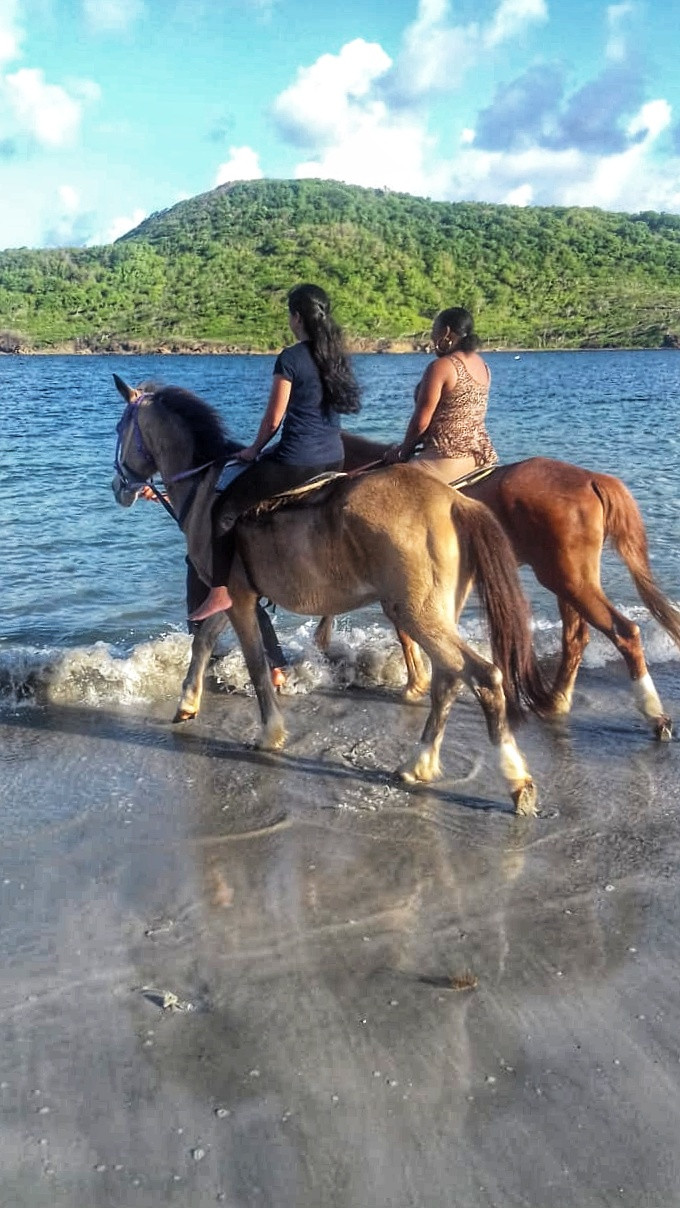 Chantelle Tatyana blog - St Lucia horseback riding