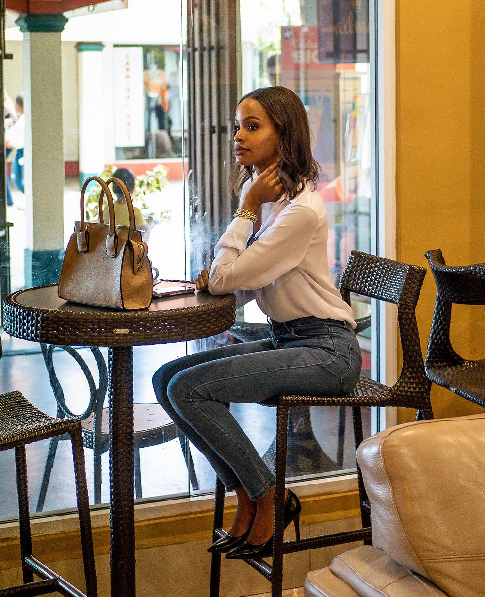 Chantelle Tatyana blog cafe pic