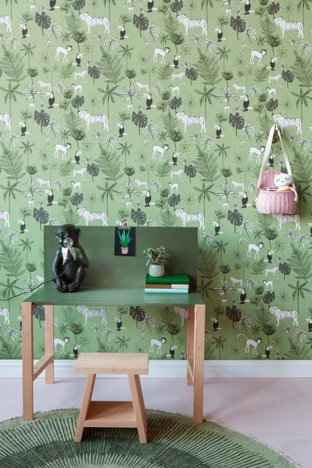 Groene jungle behang photo-1.jpg