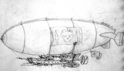 Steampunk_Airship_Sketch_by_zombie2012